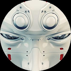 robotic mask circle