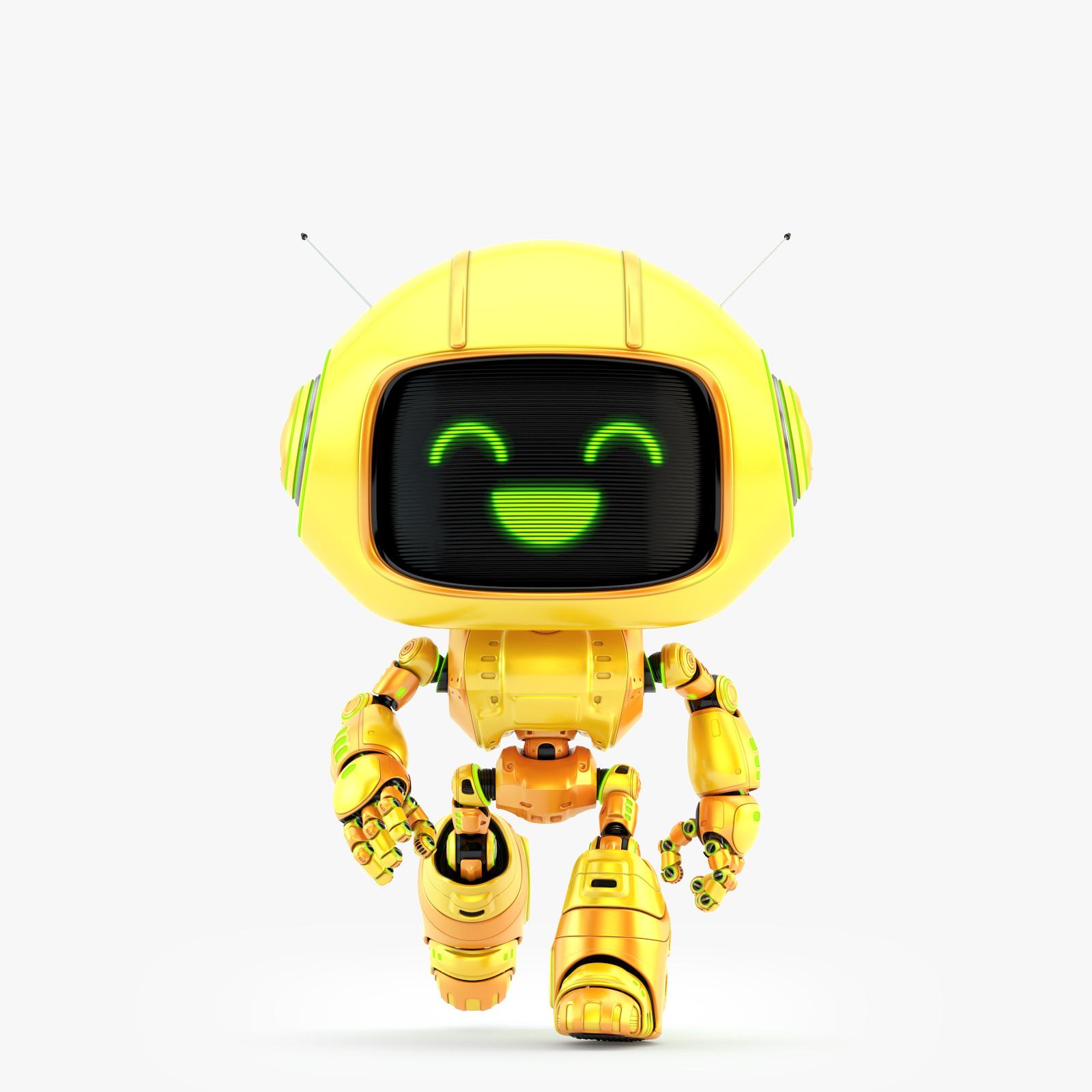 CUTE ROBOT VIII 01