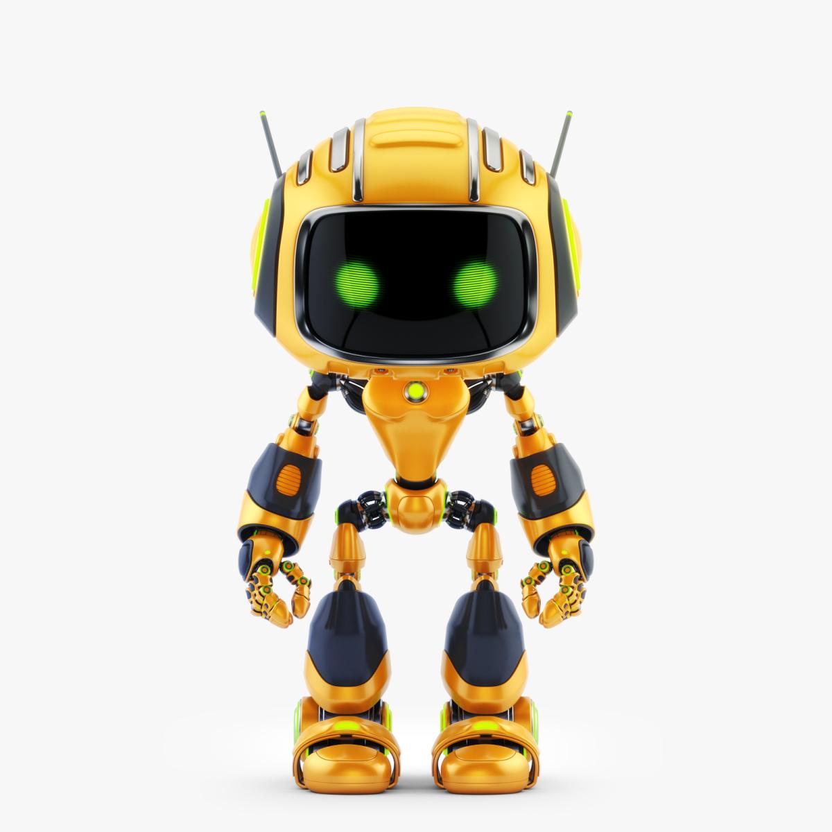 CUTE ALIEN ROBOT V 01