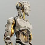 00004 ROBOT GOLDEN thumb