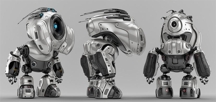 00111 robot with antennas thumb v2