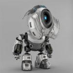 00112 robot with antennas thumb