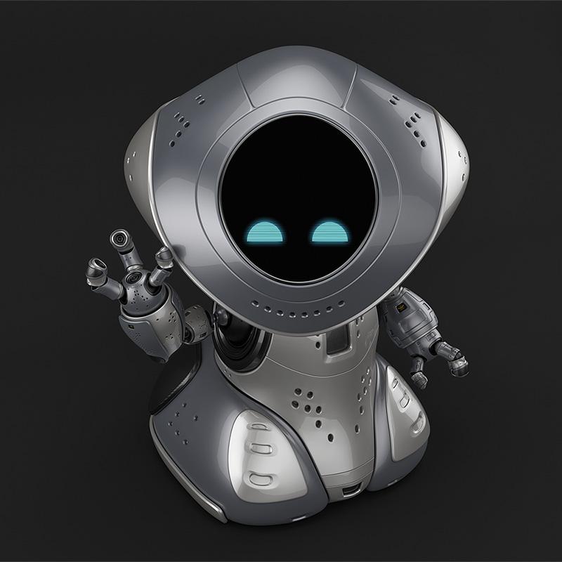 00113 robot pirate thumb