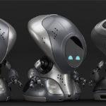 00114 robot pirate thumb