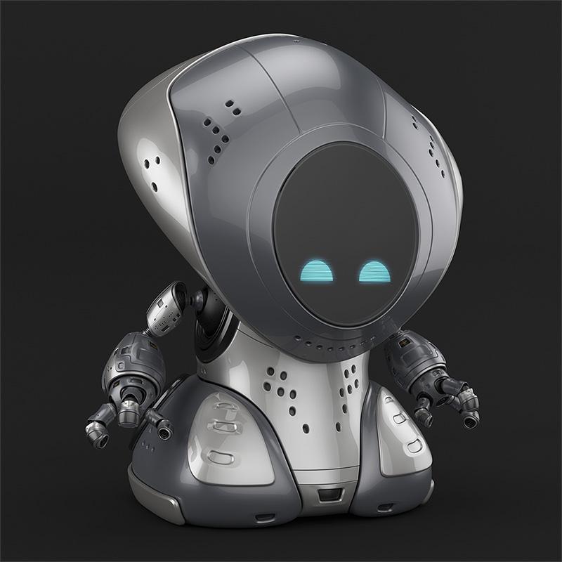 00116 robot pirate thumb
