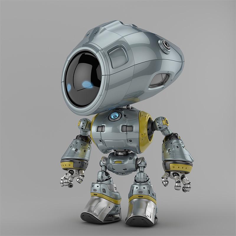 00118 robot unique thumb