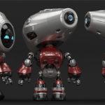 00121 robot unique thumb