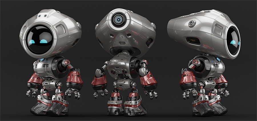 00122 robot unique thumb