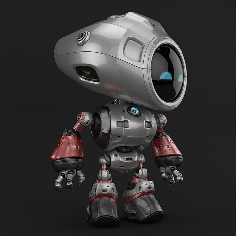00123 robot unique thumb