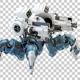 Spider police robotic unit