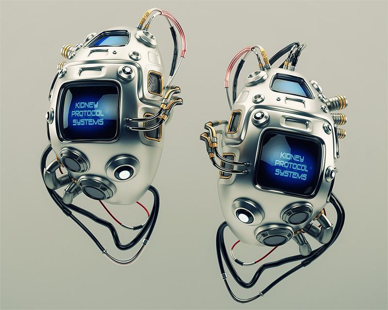 controlled medicine steel kidneys