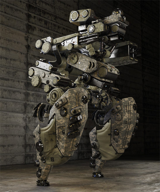 military robotic dron