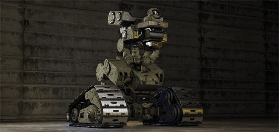 little robotic acu robot