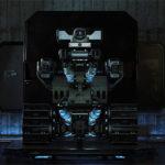 robot on back