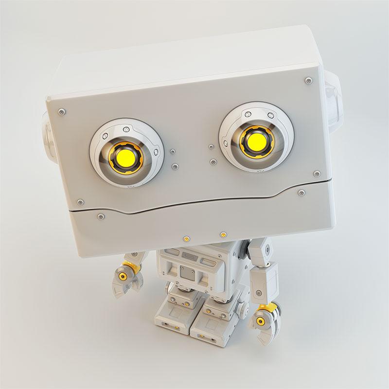 lovely retro robot