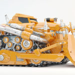 powerful bulldozer