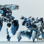robotic spider dron police
