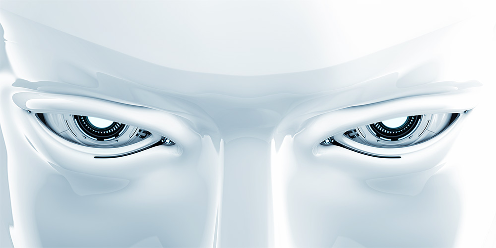 robotic human artificial eyes