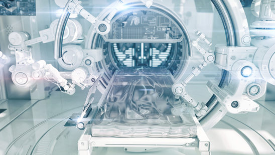 Futuristic hi-tech medical devices for diagnostic