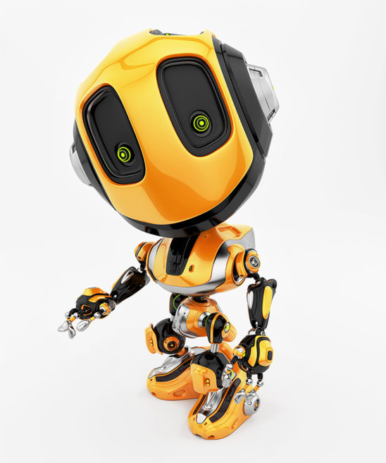 bee robot upper