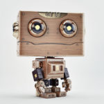 wooden robotic toy
