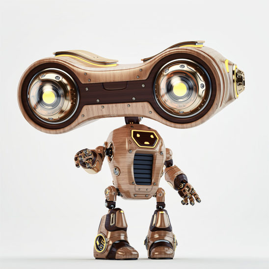 robot look-see