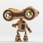 binoculars robot smart