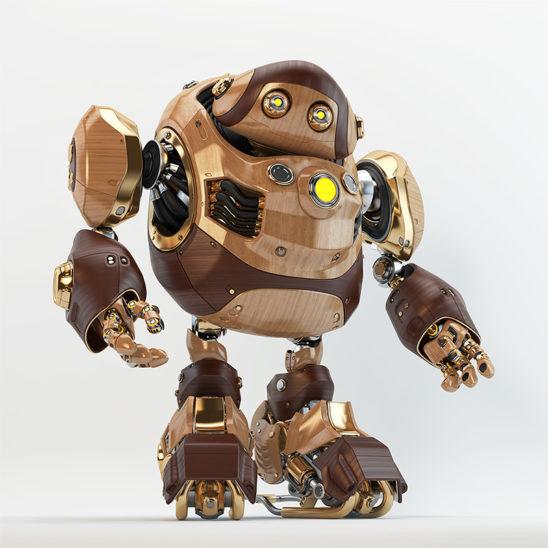 cyber wooden turtle