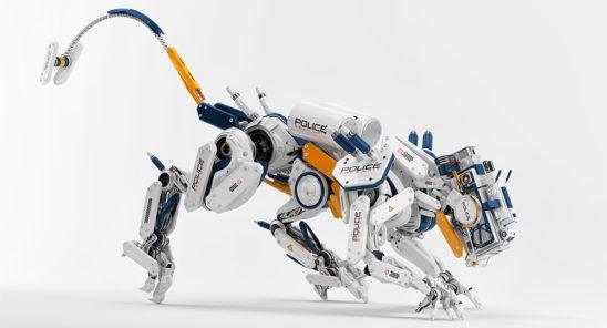 robot panther
