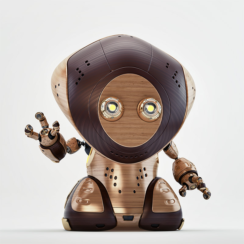 Retro Rover greeting