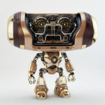robot wooden hero