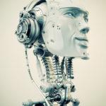 robot listening music
