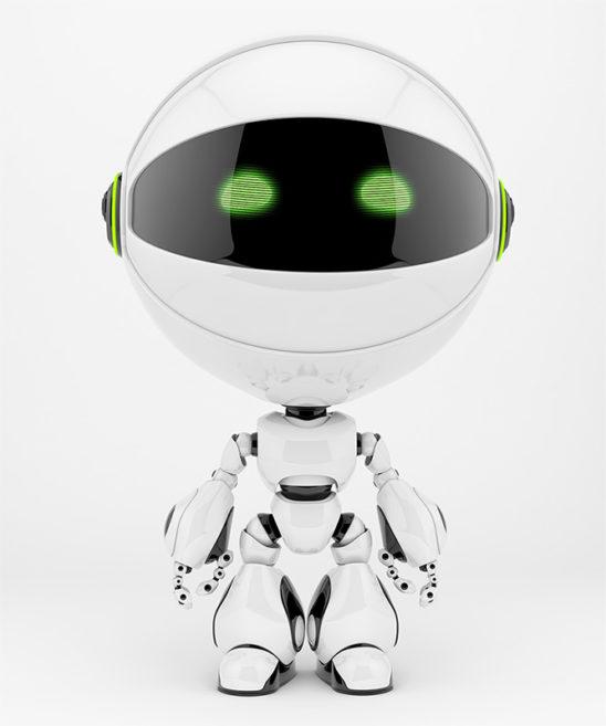 circle robot round