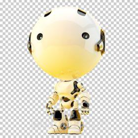 toddler yellow robot