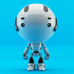 toddler robot blue
