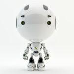 white robot toddler