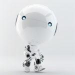 walking toddler robot