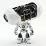 Cheburashka robot creature