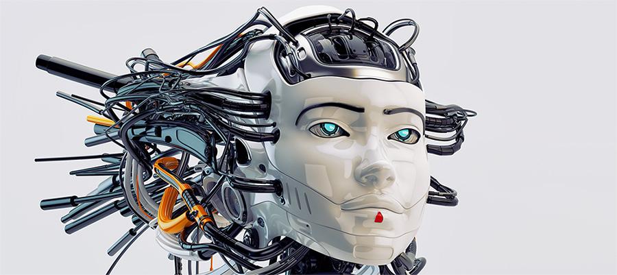 geisha robot woman