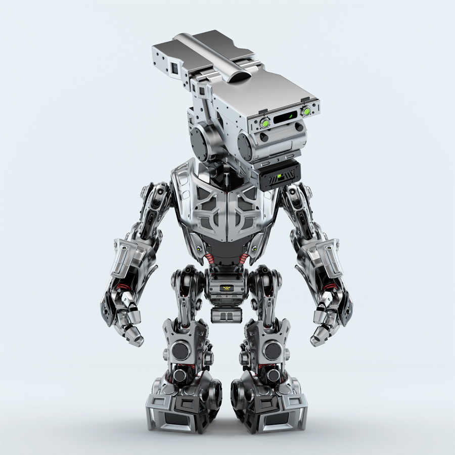assistant bot robot