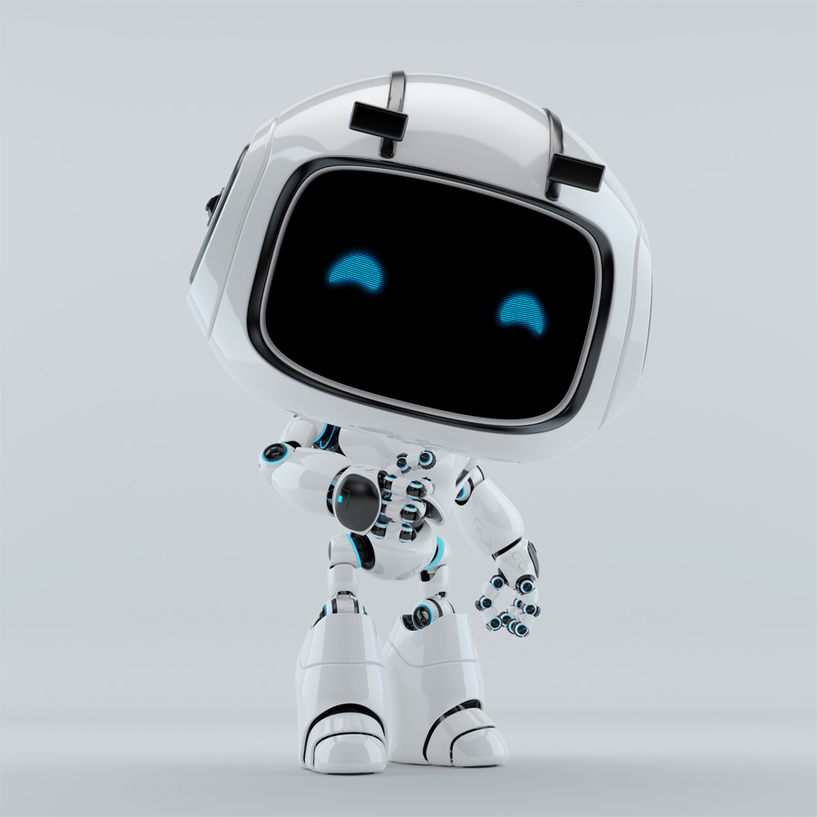 unit 9 white robot