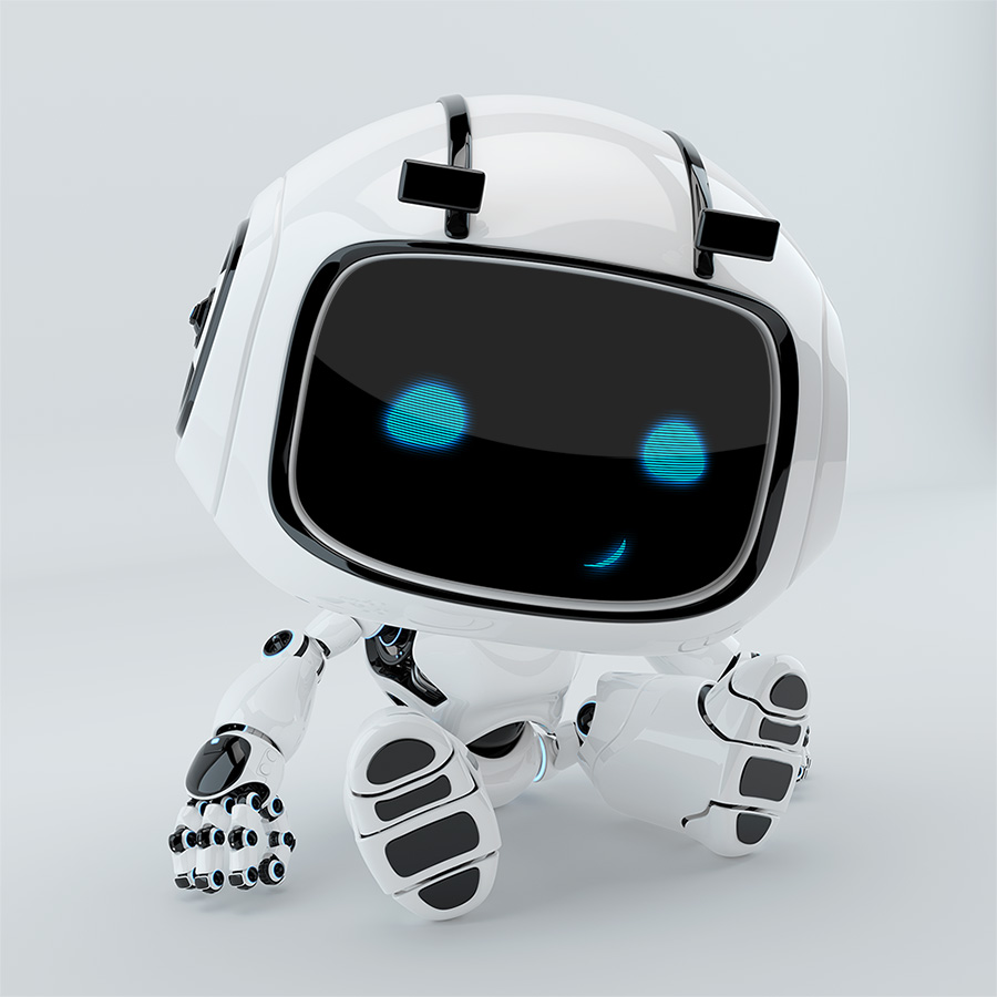 sitting robot unit 9