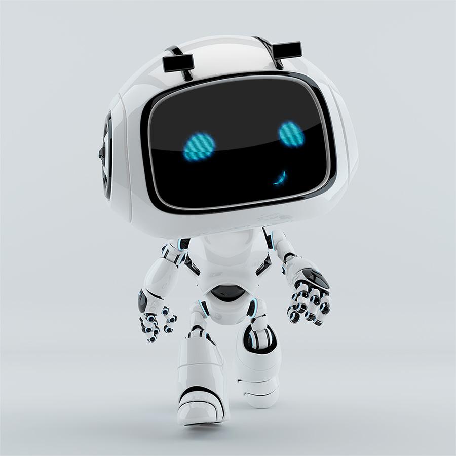 robotic creature unit 9 - walking forward