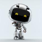 silver unit 9 robotic toy