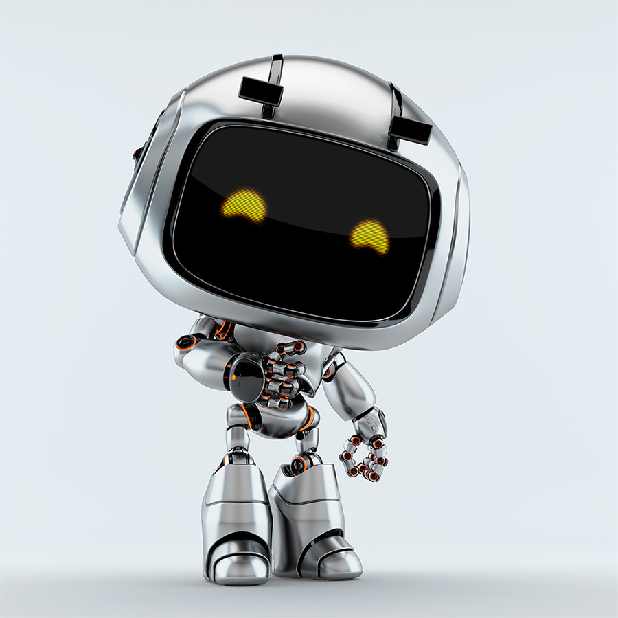 silver unit 9 robotic toy