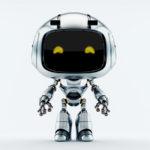 Silver robot unit 9