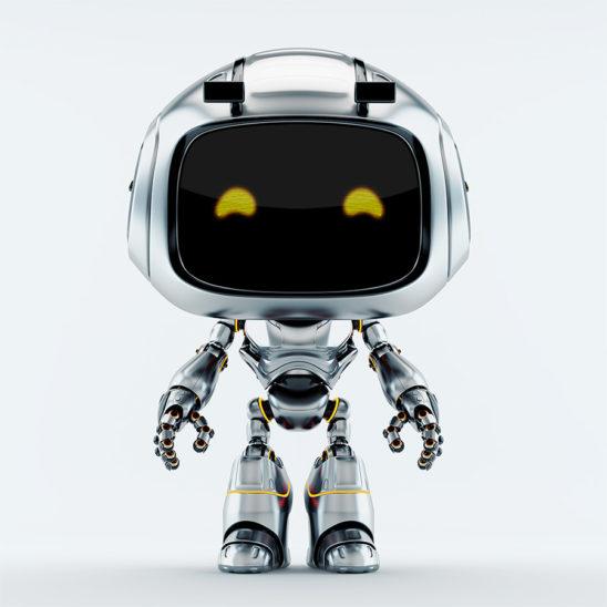 Silver robot unit 9 v4