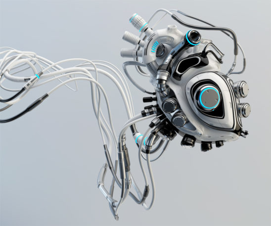 connected robotic heart