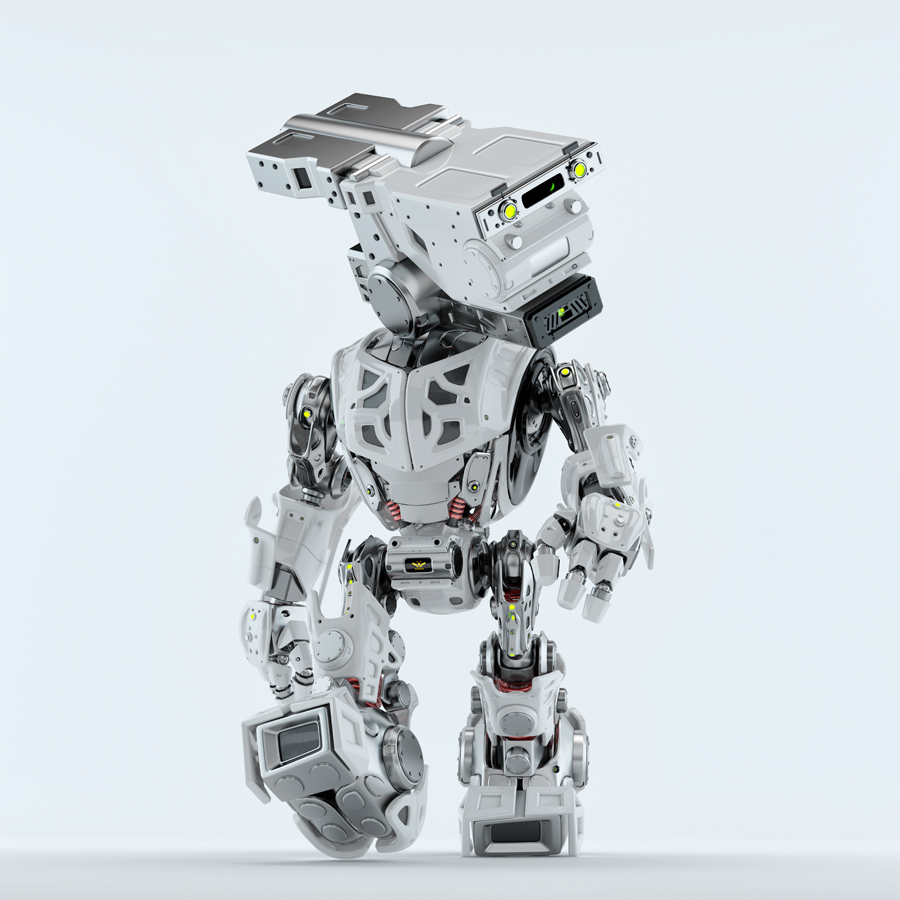 Walking assistant bot