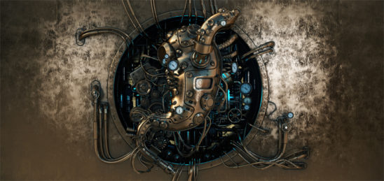 Steampunk stomach
